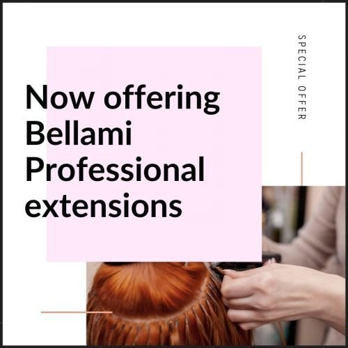 Bellami Hair Extensions now offered
